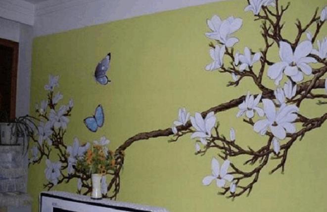 长沙手绘墙